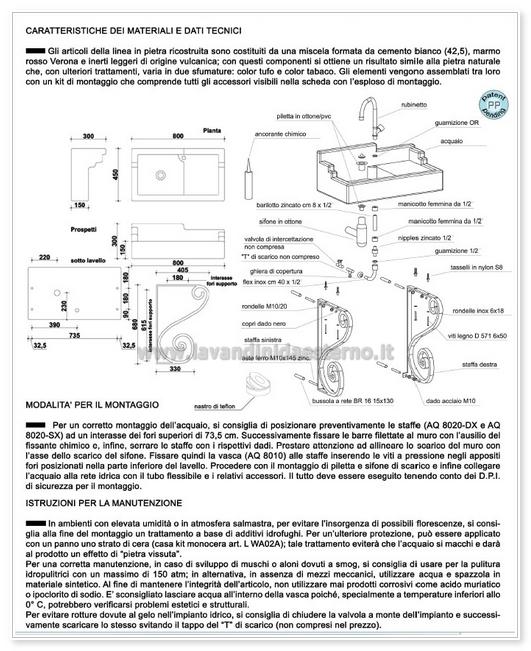 consigli di montaggio 540aq8000