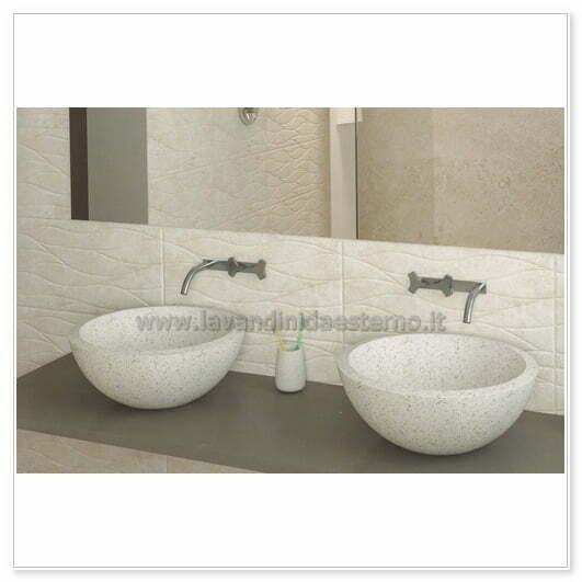lavabo in cemento prezzi