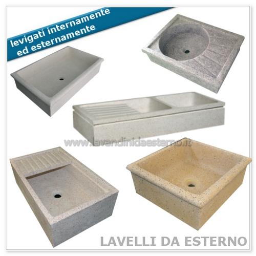Home lavandini da esterno lavelli lavabi acquai - Lavelli in pietra da giardino ...