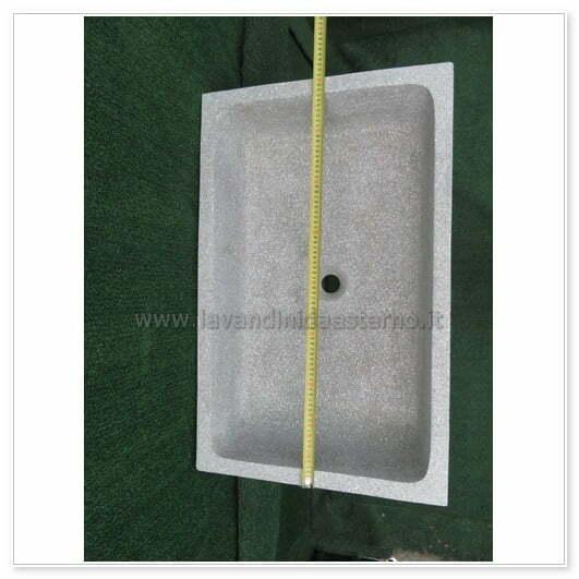 Lavelli da esterno pl404 vari colori pietra levigata - Lavelli da esterno in resina ...