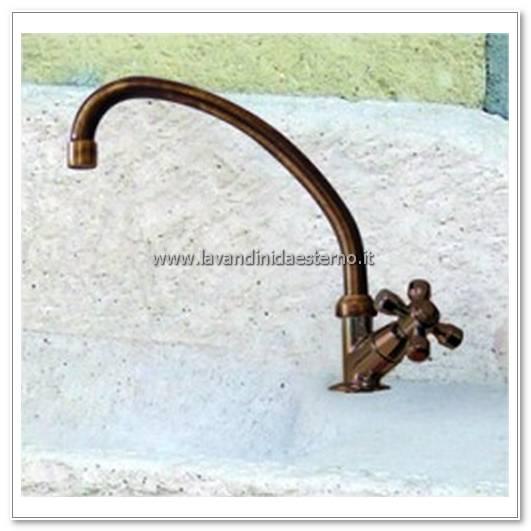 rubinetti da esterno corto con croce ru190