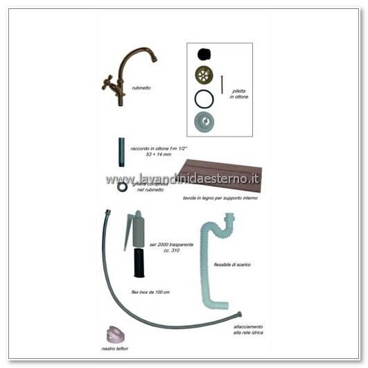 accessori lavabo