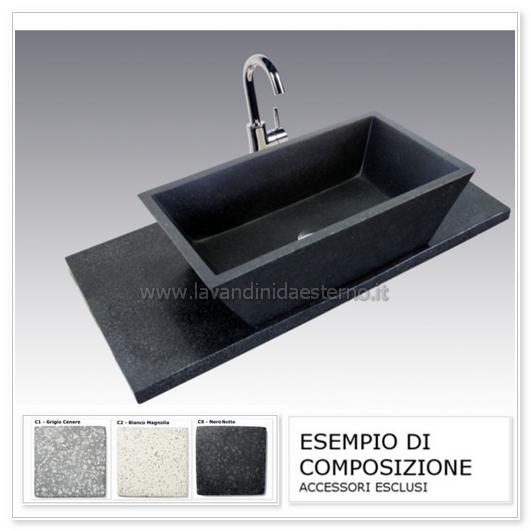 lavabo moderno composizione pl904