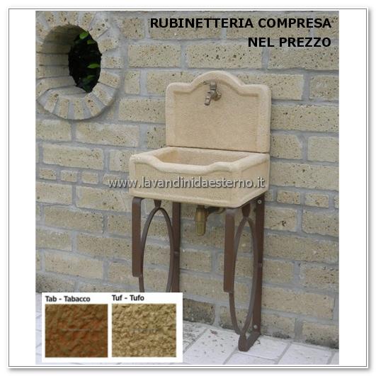 supporti aq3220-ct - lavandini da esterno  lavelli  lavabi  acquai
