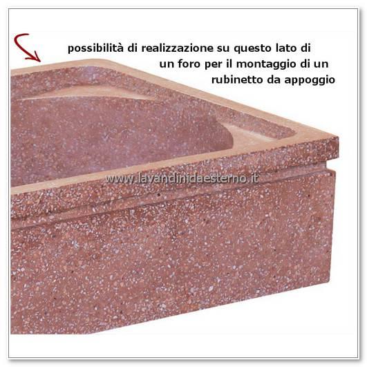 lavelli da esterno pl201 foro rubinetto