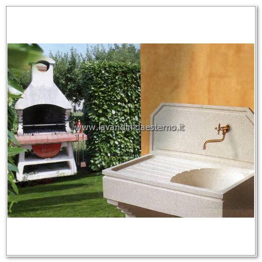 Lavandini da giardino swing set201 cr completo di kit - Lavandini da esterno ...