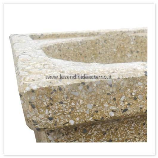 dettaglio impermeabilità acquaio in graniglia levigata 292