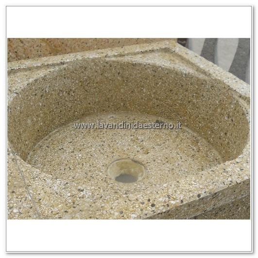 dettaglio lavelli pilozzo in graniglia levigata 219