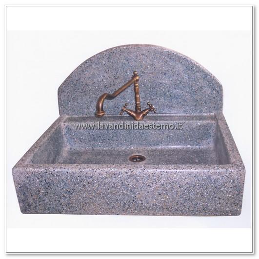 lavabo in muratura