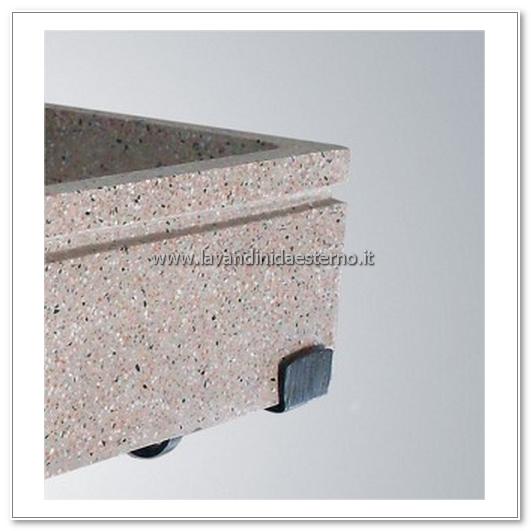 lavandini in pietra per esterni set403f cr