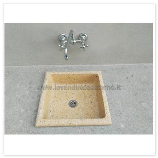 lavello da giardino pl456 - lavandini da esterno | lavelli | lavabi ...