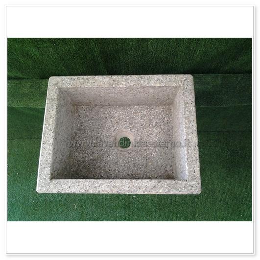 lavello da giardino pilozzo in graniglia levigata 254 | vari colori