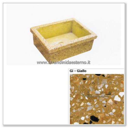 lavello giardino pietra : lavello da giardino pilozzo in graniglia levigata 254 - lavandini da ...
