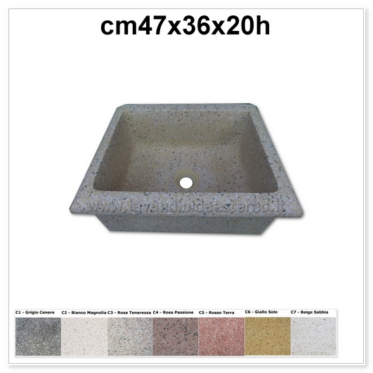 lavello da giardino pl455