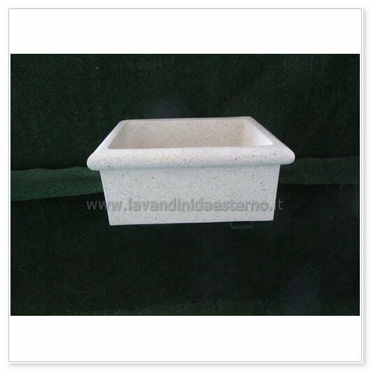 lavello in graniglia 1