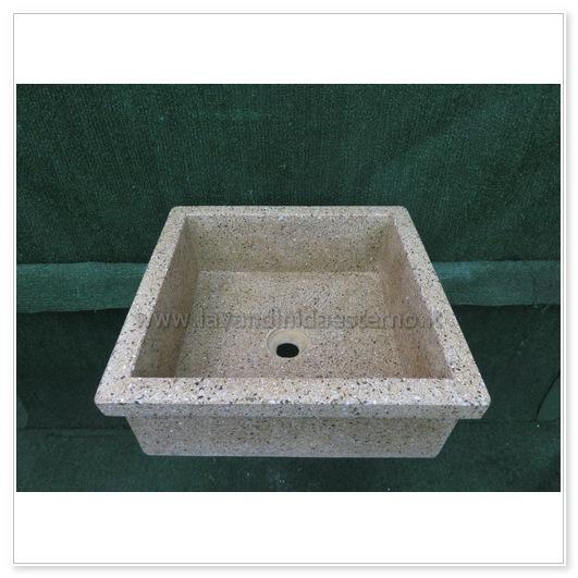 lavello in pietra ricostruita