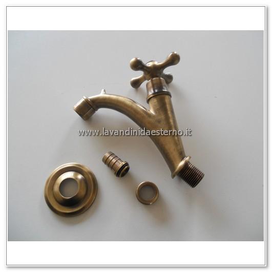 rubinetto inclinato con portasecchio ru266