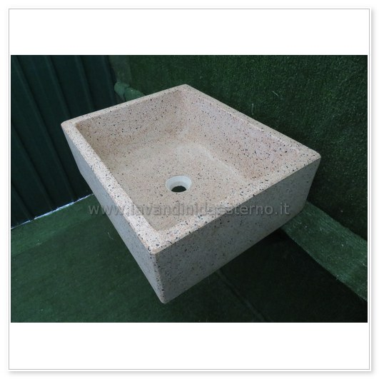 lavello cucina in pietra pilozzino 282 | vasca rettangolare