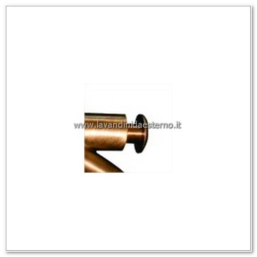 dettaglio rubinetto a parete pulsante tradizionale ru265