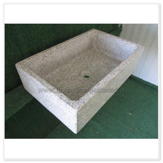 lavello cucina in pietra pilozzino 282 - lavandini da esterno ...