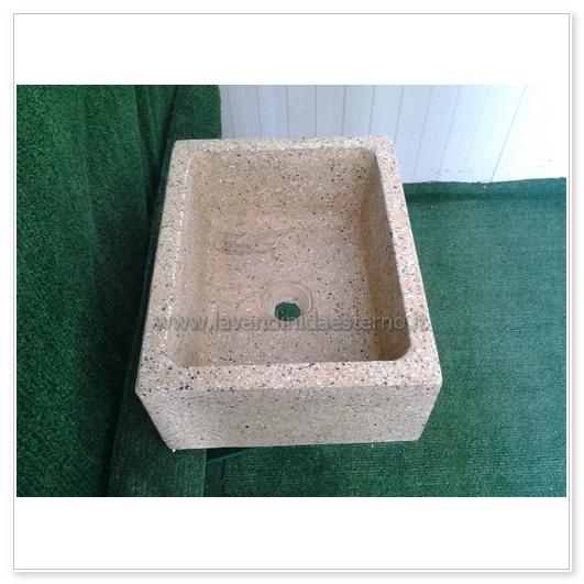 lavello cucina in pietra pilozzino 286 - lavandini da esterno ...