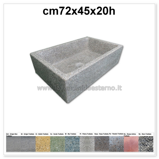 lavello cucina in pietra pilozzino 289