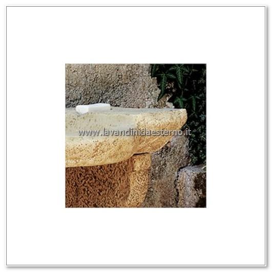 dettaglio lavorazione lavandino da esterno tenerife lr1601