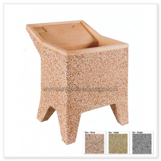 Lavatoio da esterno con piedini lavc p lavandini da esterno lavelli lavabi acquai - Lavatoio in pietra da esterno ...