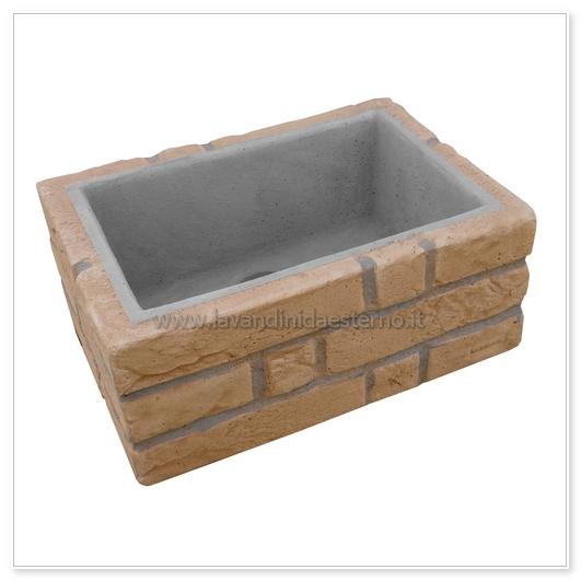 Lavandino per esterno nonno giuseppe ar387sa lavandini - Prodotto impermeabilizzante per terrazzi ...