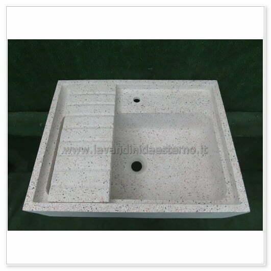 lavelli da esterno in cemento