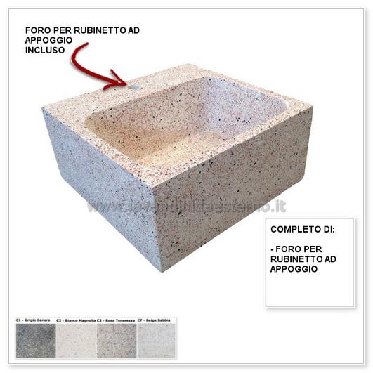 Lavelli in pietra pl306 lavandini da esterno lavelli - Lavandini in pietra da esterno ...