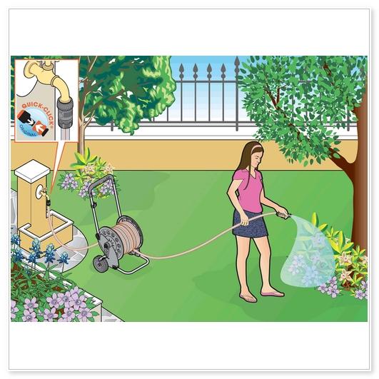 raccordo per tubo irrigazione
