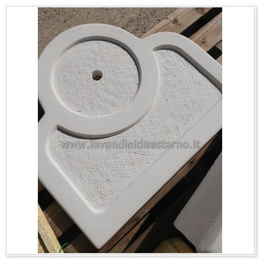 Lavabo da esterno outlet mobiletto tondo 83394 con sportello for Arredo terrazzo outlet