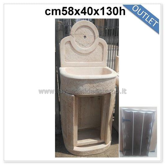 Lavabo da esterno outlet mobiletto tondo 83394 lavandini - Lavandini da esterno ...