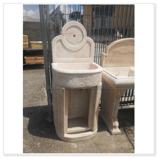 Lavabo da esterno outlet mobiletto tondo 83394 lavandini - Lavabo giardino ...