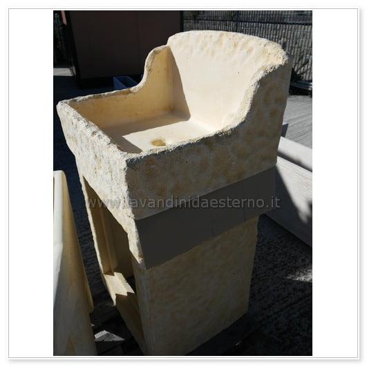 lavabo da esterno outlet mobiletto pietra 83395