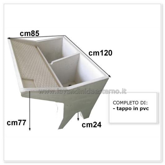scheda tecnica lavatoio cm120