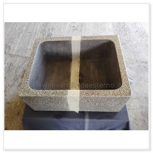 lavelli da giardino in cemento