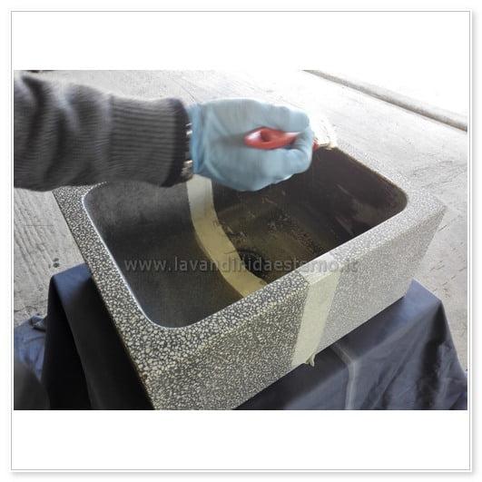 proteggere un lavandino da esterno