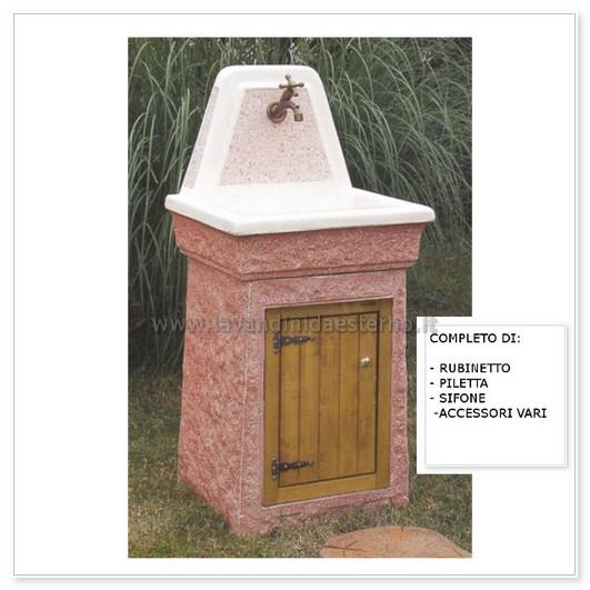 lavabo da esterno marmolada aq6000-mar - lavandini da esterno ...