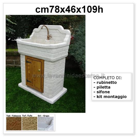 lavabo da esterno nonna matilde aq9100 mt