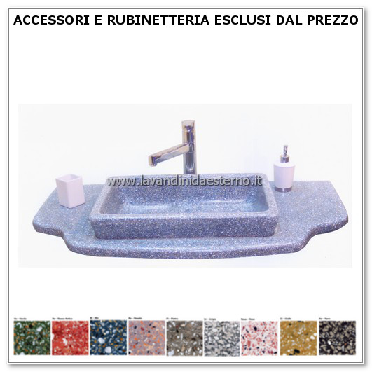 lavabo moderno arredo bagno 416