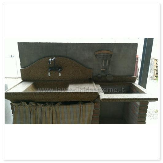 lavello cucina esterno