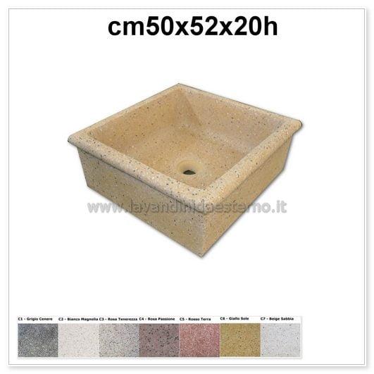 Lavello da giardino pl456 lavandini da esterno lavelli - Lavello da esterno ...