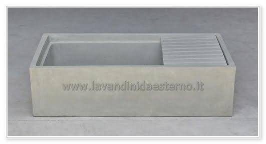 lavello in cemento
