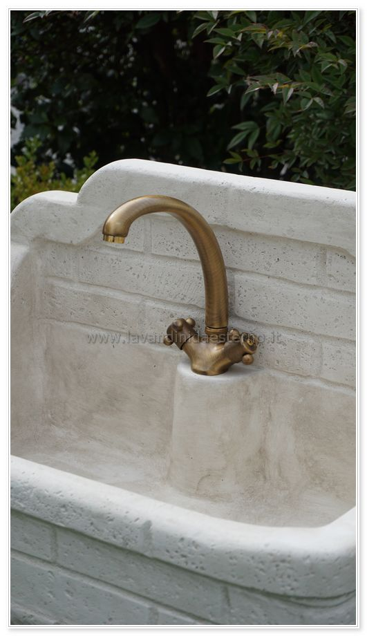 rubinetti esterni ottone