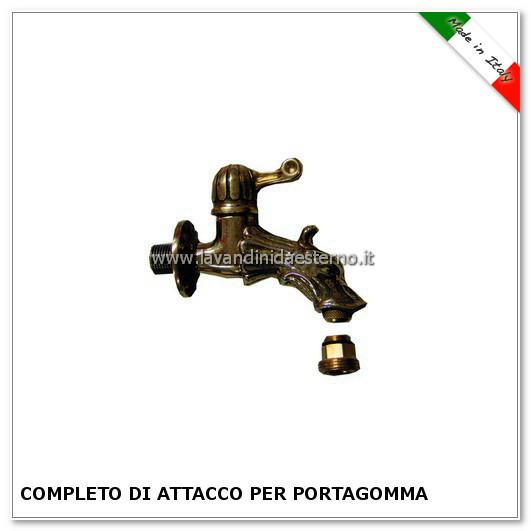 rubinetto da giardino grifone a leva corto rula205-c