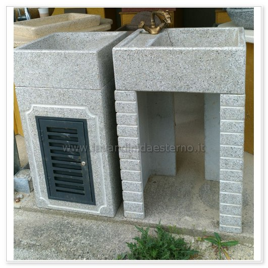 lavabi in pietra da esterno