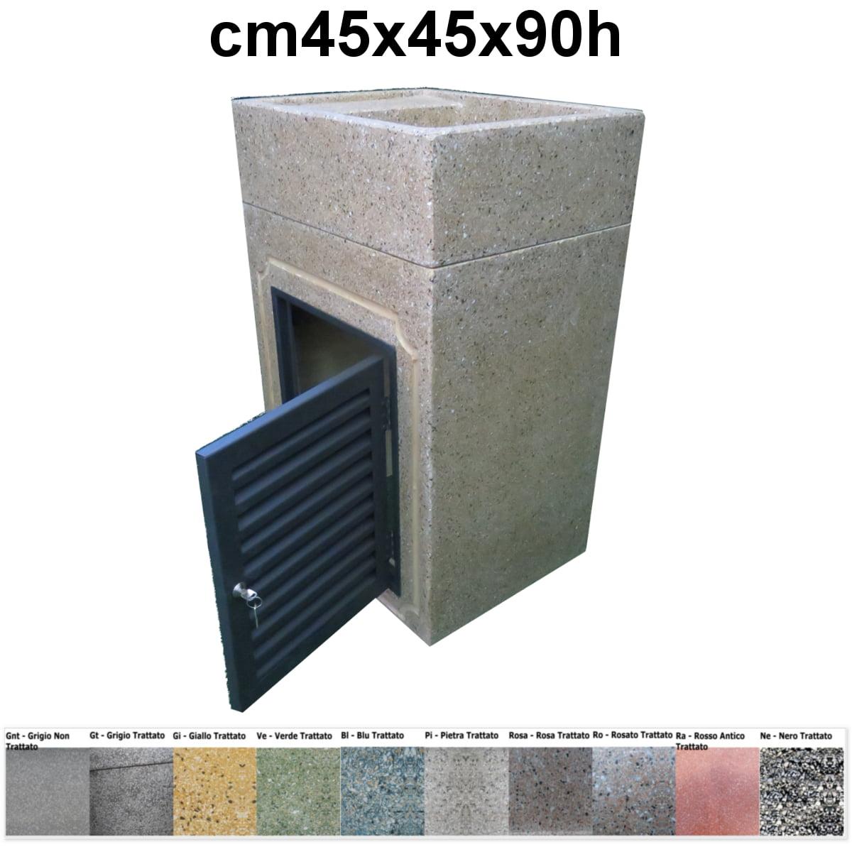 Lavabi Da Esterno Moderni.Lavabo Da Esterno 293 Con Sportello In Grafite 299 Offerta