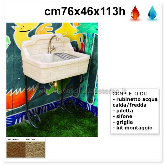 lavandino da esterno nonna lucrezia aq9250mt